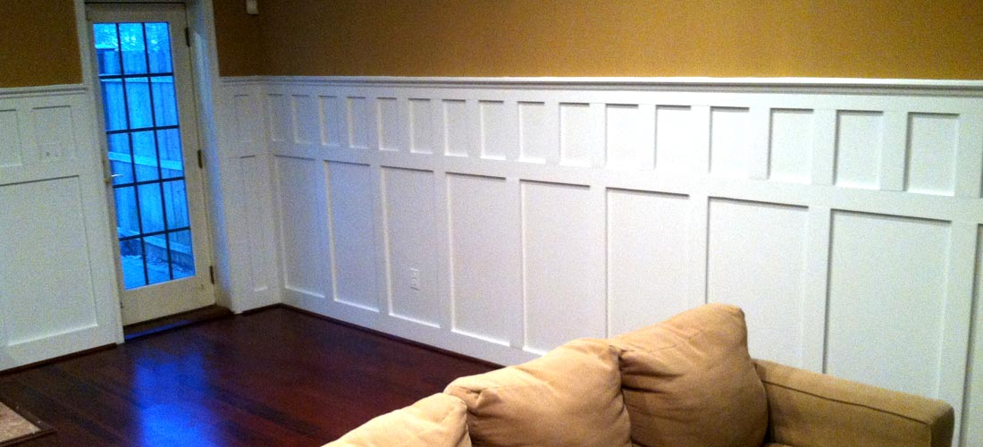 Wainscoting Wood Working - Disbrows Custom Construction & Remodeling on